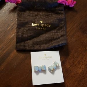 kate spade Jewelry - brand new kate spade bow earrings!